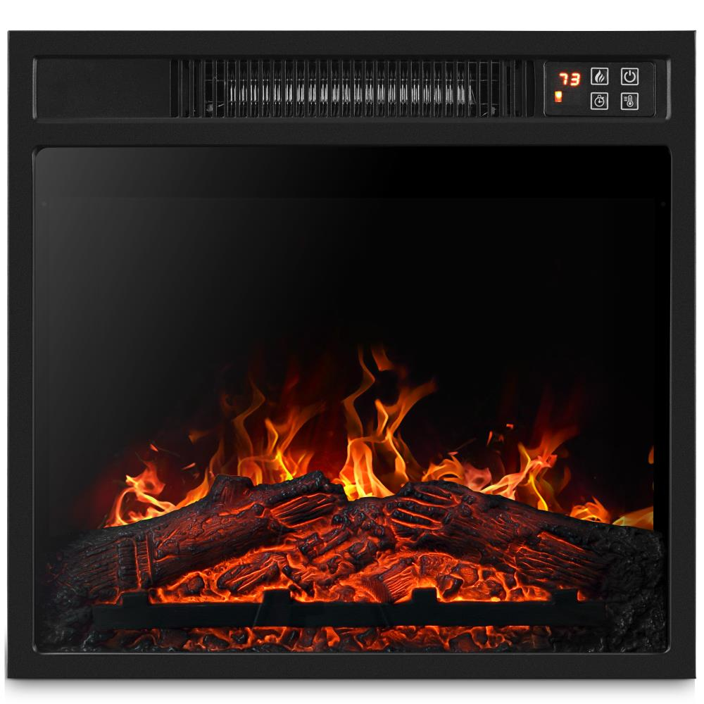 belleze-18-electric-fireplace-heater-insert