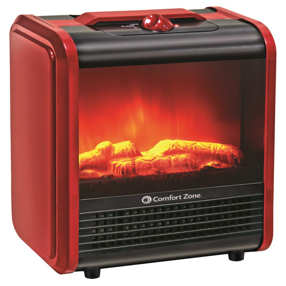 comfort-zone-electric-fireplace-heater-how-it-works