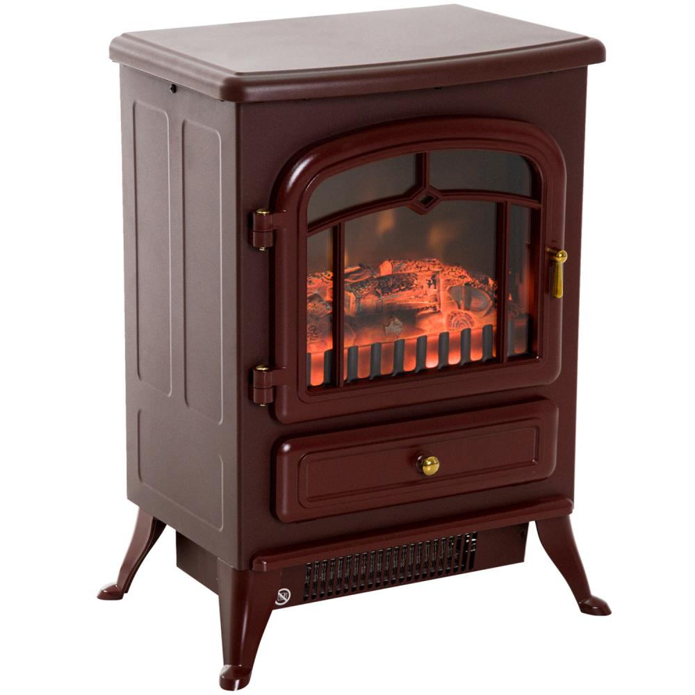 homcom-freestanding-realistic-electric-fireplace-heater